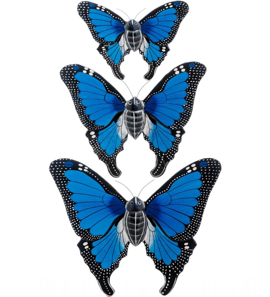 Панно декоративное Трио Бабочек (3 шт)