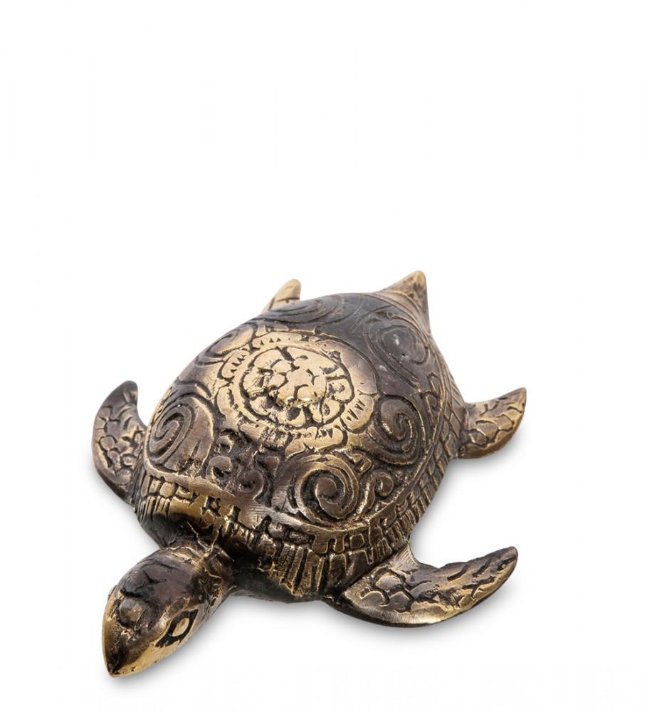 """Статуэтка из бронзы """"Морская черепашка"""" 9,5 см"""