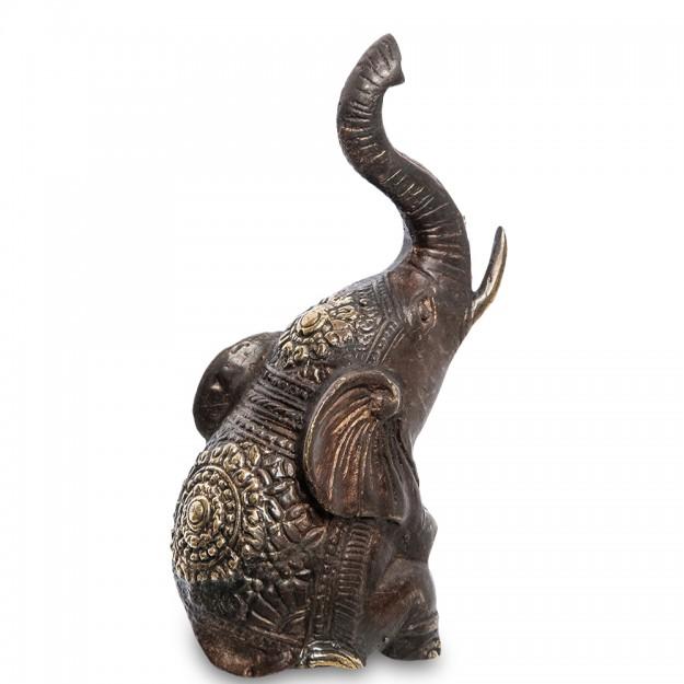 Фигурка из бронзы Слон