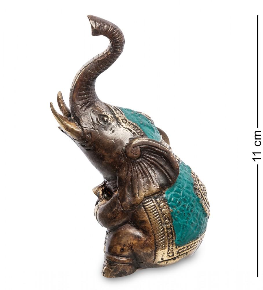 Бронзовая статуэтка Слоненок 11 см