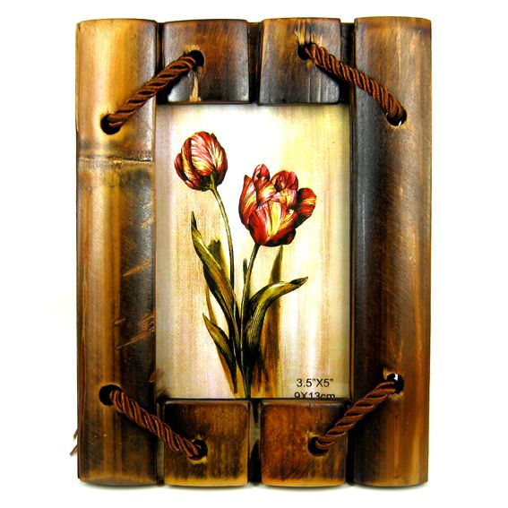 Бамбуковая рамка для дома 9х13см