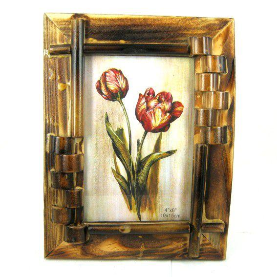 Рамка для фото из экзотических растений 10х15см