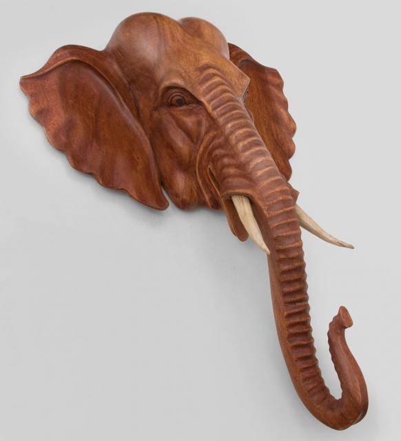 """Изделие из дерева """"слон"""" 80 см"""