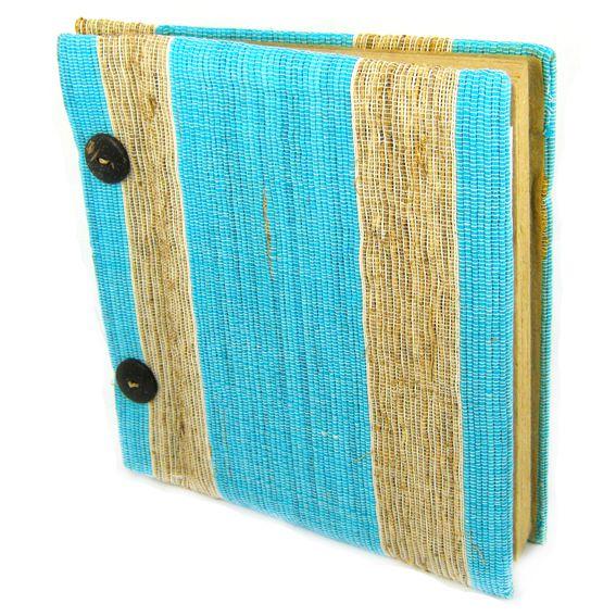 Блокнот из эко-материалов 20х20 см