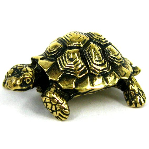 Черепаха статуэтка бронза 33*22*13мм