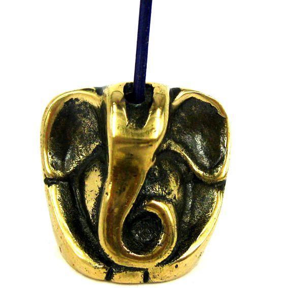 Подставка под благовония Ганеша (бронза) 26*13*25мм