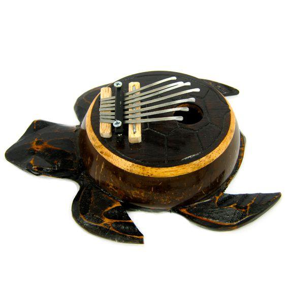 Калимба в виде черепахи