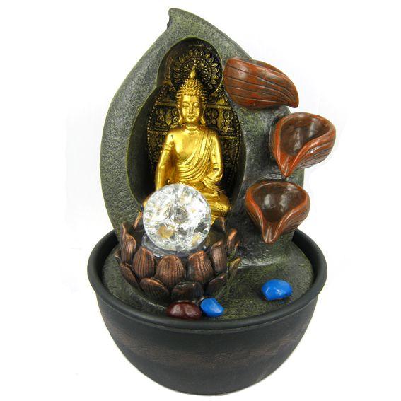 Настольный фонтан Будда 29 см