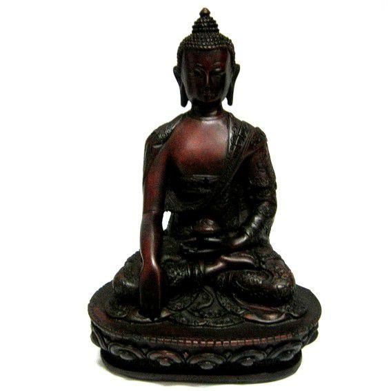Сувенир Будда 19 см полистоун