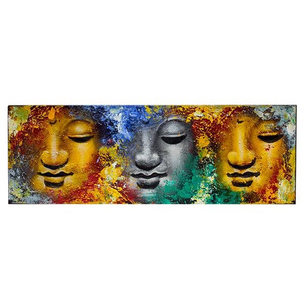Картина Будда Абстракция 90х30см (масло)