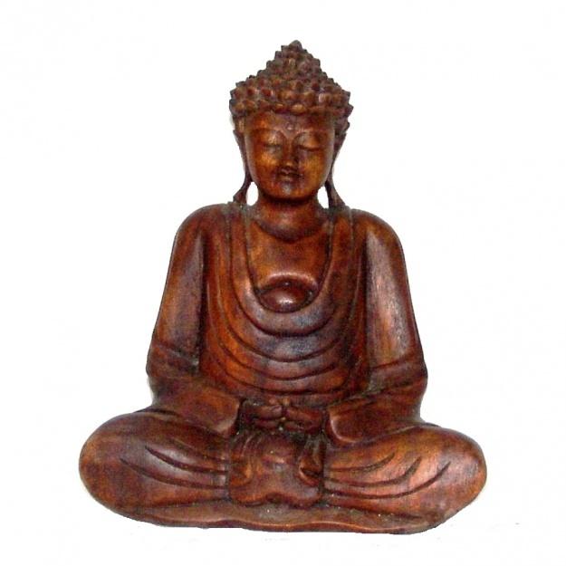Скульптура Будда  60 см натуральное дерево