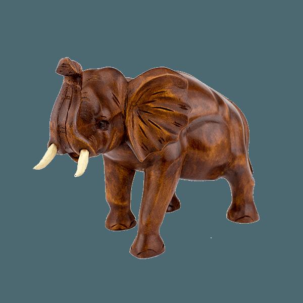 Статуэтка из дерева слон резной 27х20см