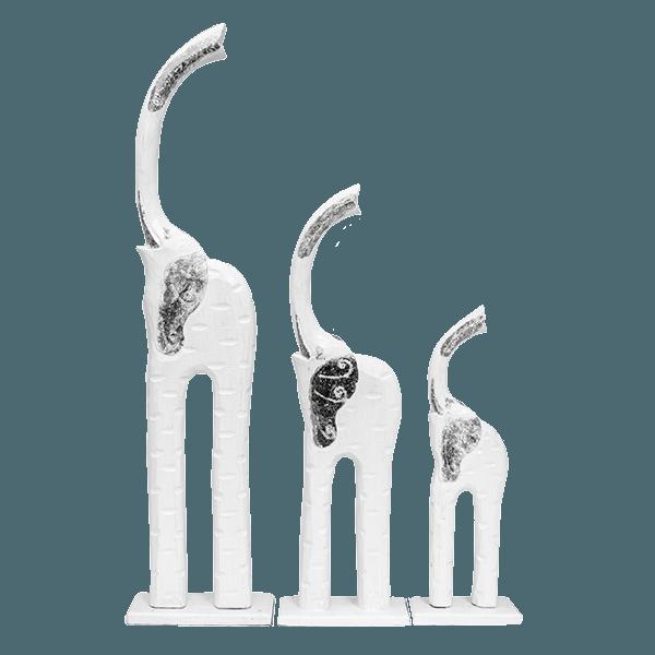 Изделия из дерева семья слонов 84,62,43 см