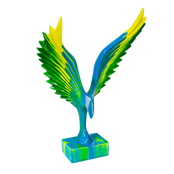 Авангардная фигура Орел 24х33см