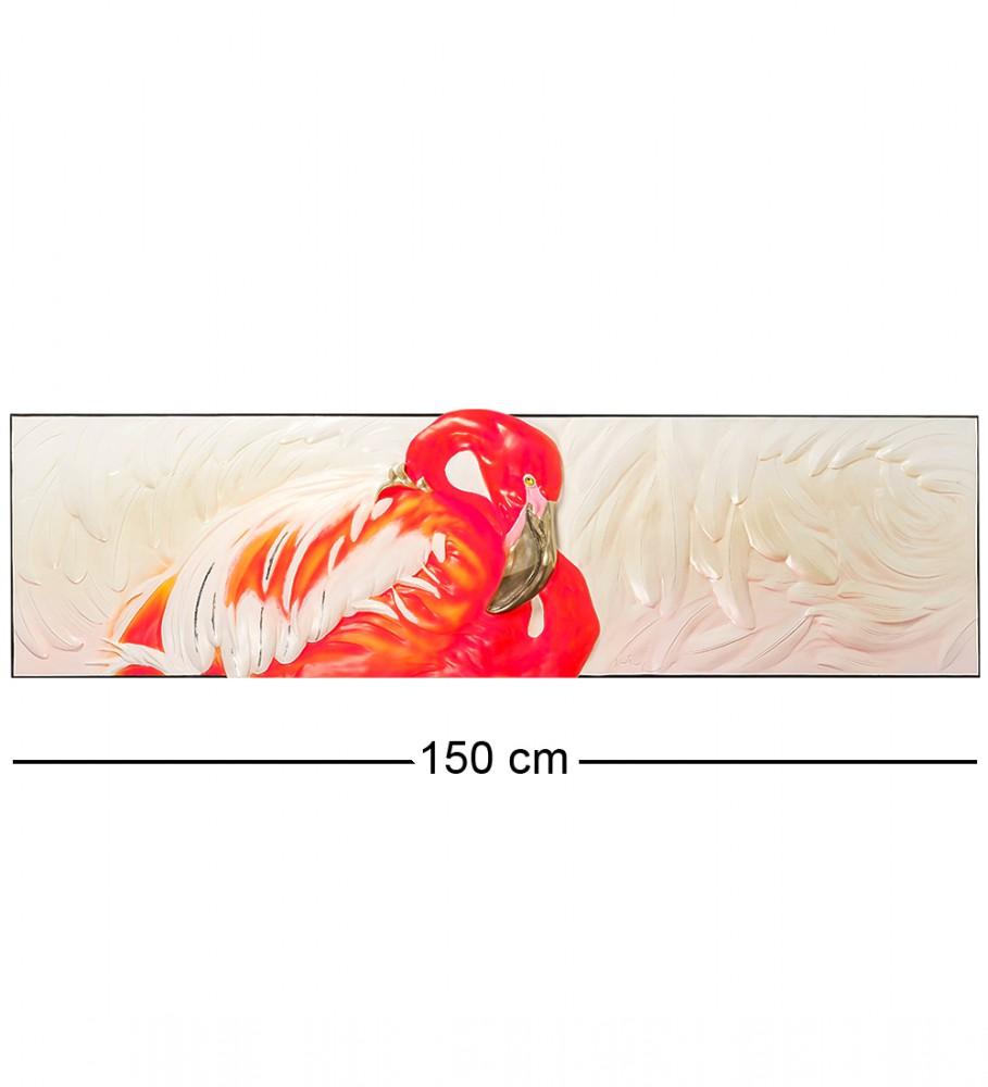 Декор-панно Фламинго 150 см
