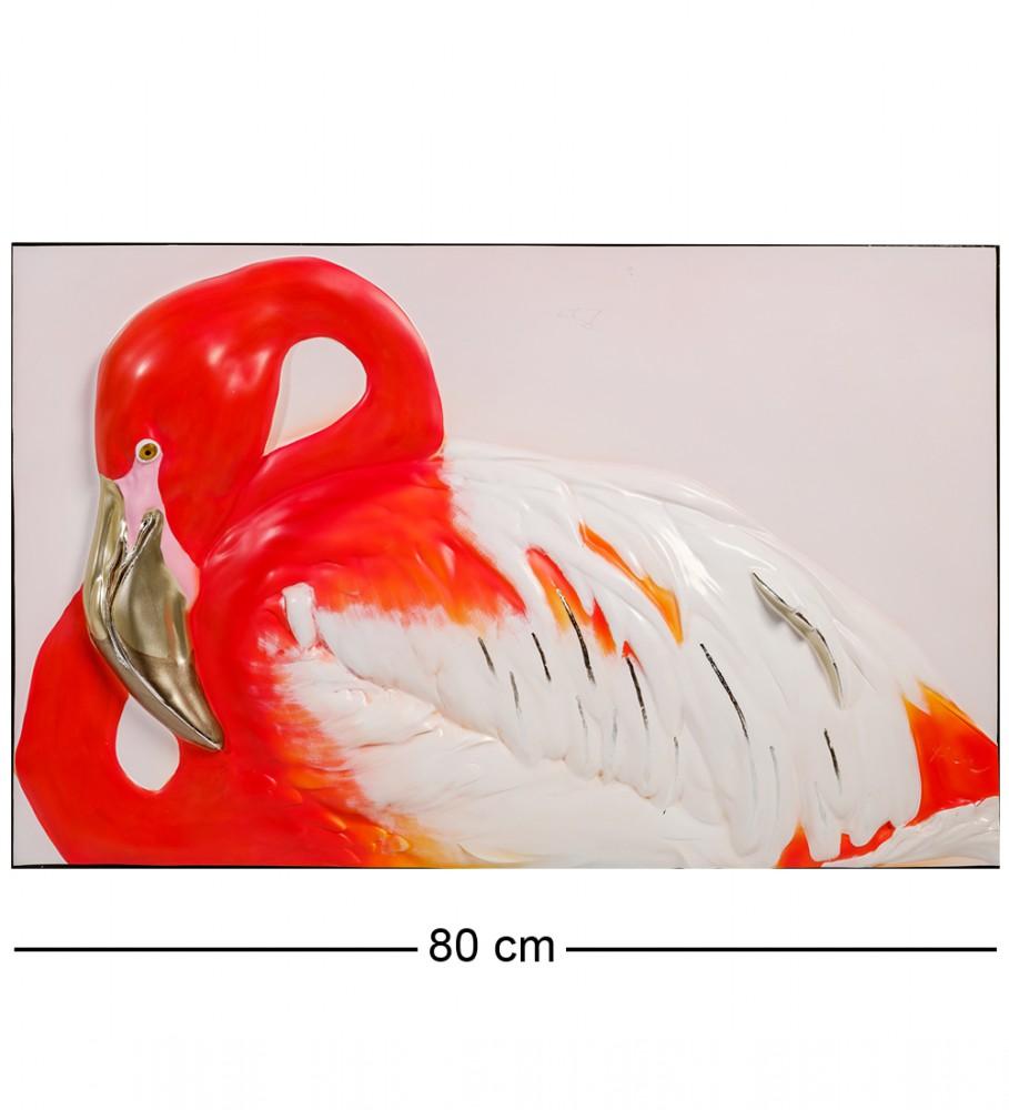 3D-панно Фламинго 80 см