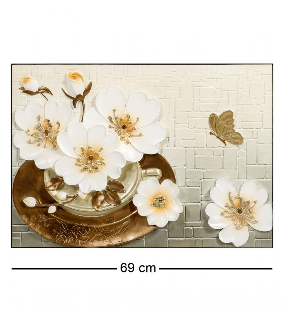 3D-панно Лилии в цветк 70 см