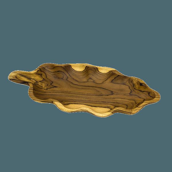 Блюдо Флора: тик 43х20 см
