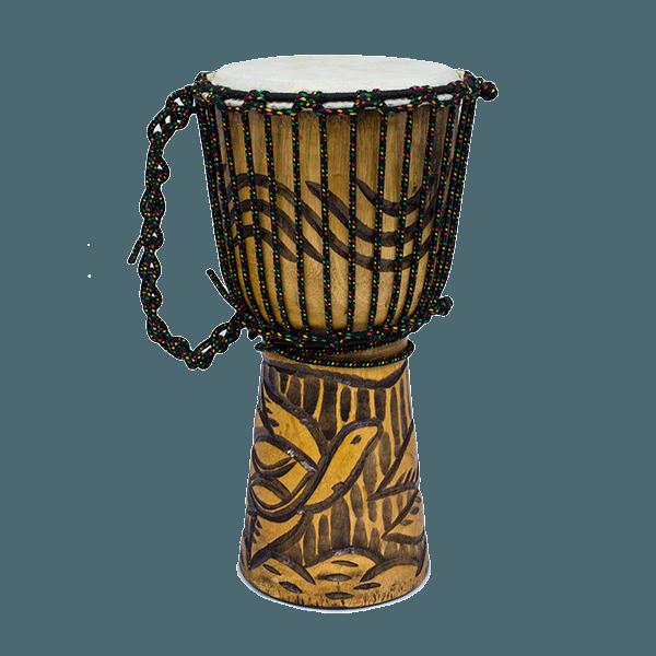 Резной барабан Джембе 40 см