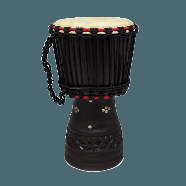 Музыкальный барабан кожа / дерево 42см