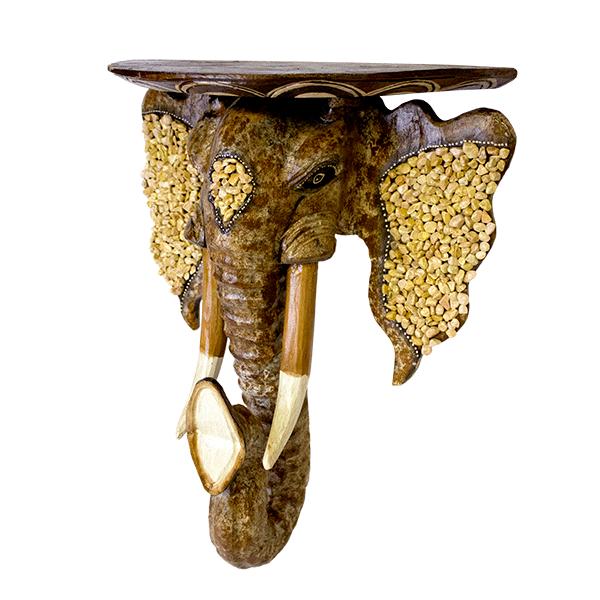 Консольс головой слона 62х52см