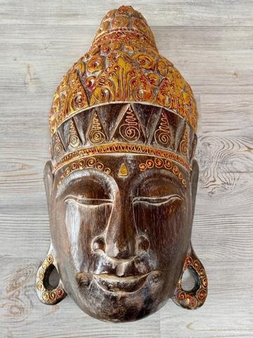 Панно настенное 50 см. Голова Будды