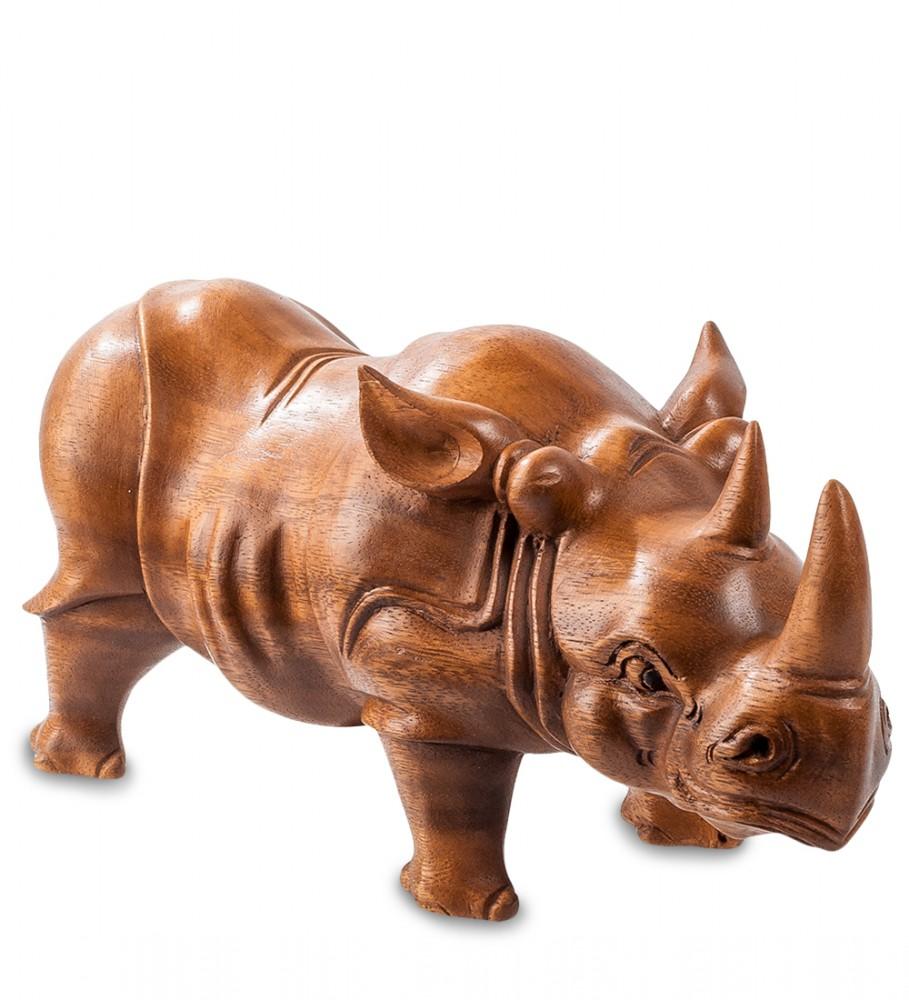"""Фигура из суар  """"Носорог"""" 30х15 см"""
