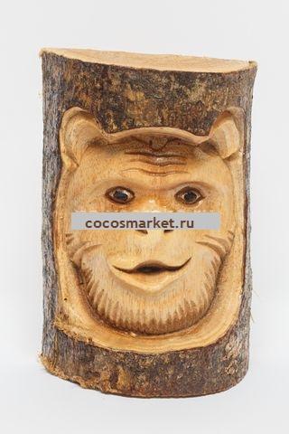 Настенное панно Медведь 16 см
