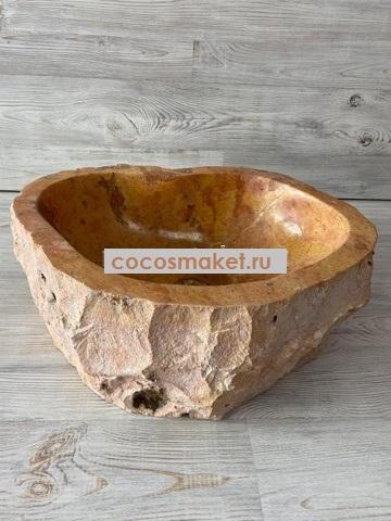 Раковина из мрамора Бенгельское течение 49*40 см