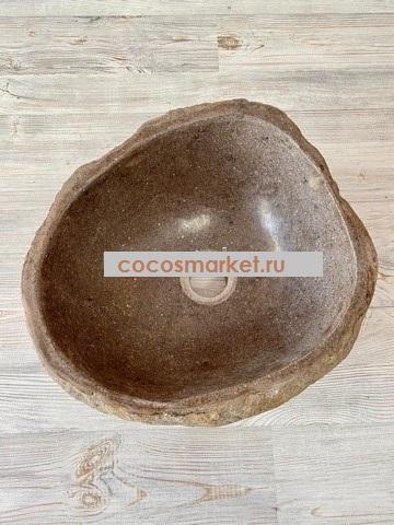 Раковина из речного камня Соя