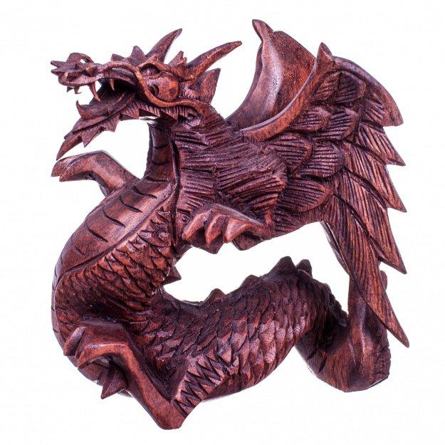 Резная фигура Дракон 30 см
