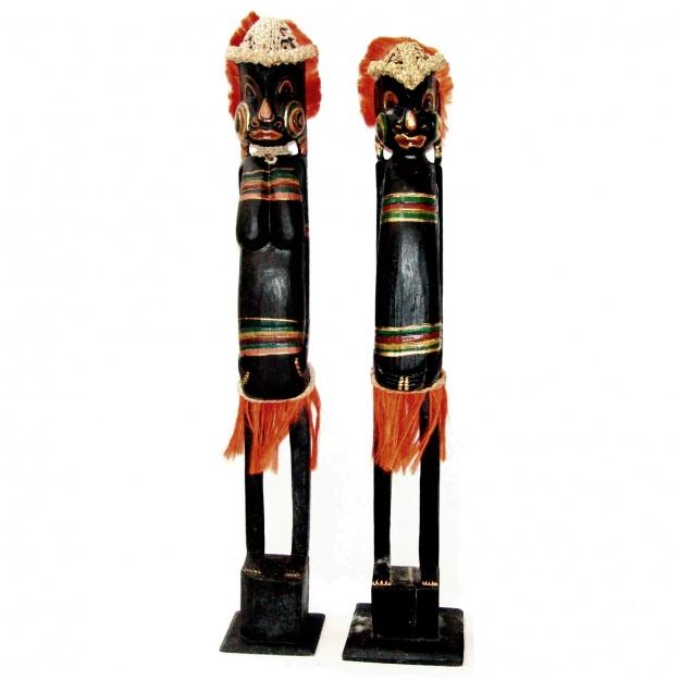 Фигуры из племени африканцев 100 см