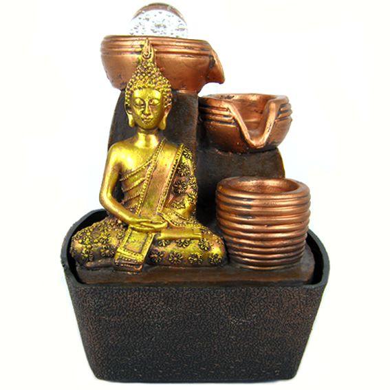 Настольный фонтан Будда 20 см