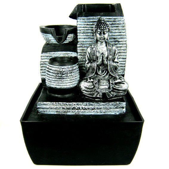 Фонтанчик с фигурой Будда 25 см
