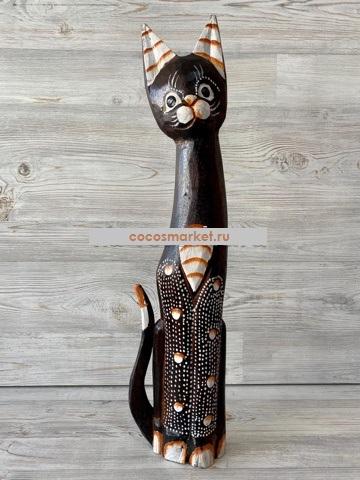 "Фигурка из дерева ""Кошка Карри"" 60см"
