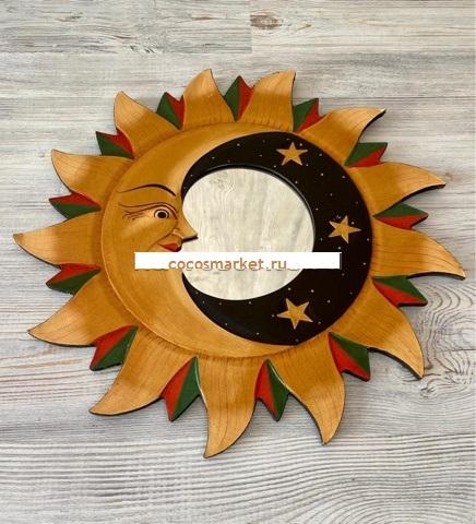Зеркало Луна в Солнце 40 см