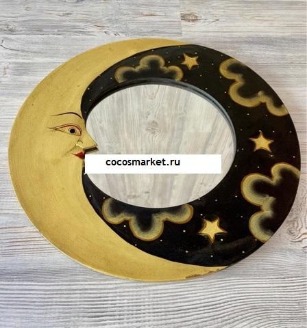 Зеркало Золотая ночь 40 см