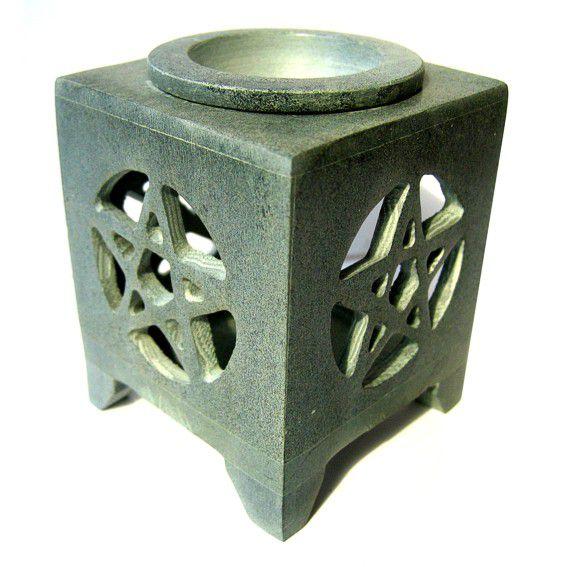 Аромалампа из камня Пентаграмма 6,5х8см