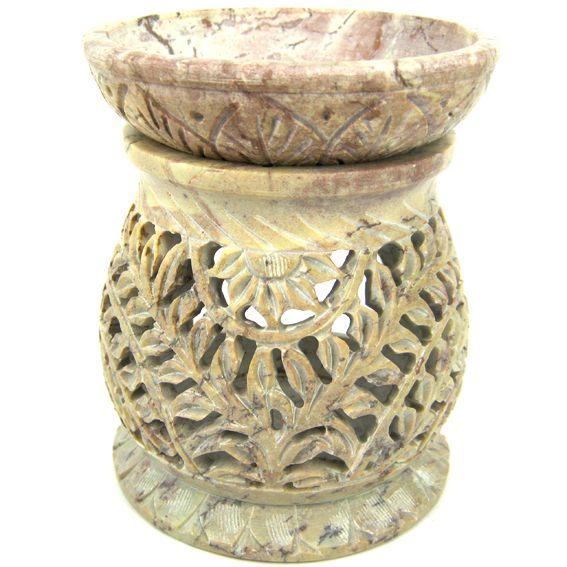 Аромалампа из камня Скифос 11см