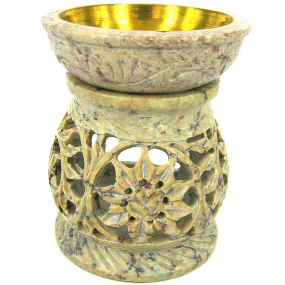 Аромалампа Каменный цветок 10см