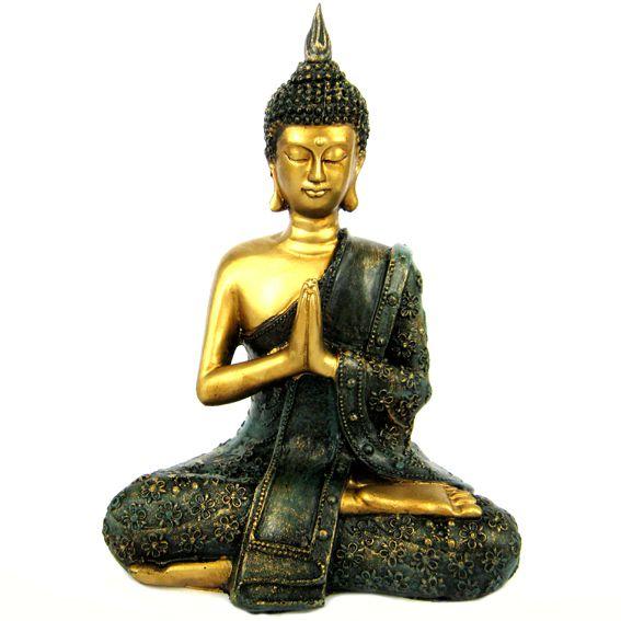 Интерьерная фигура Будда 20х15 см.