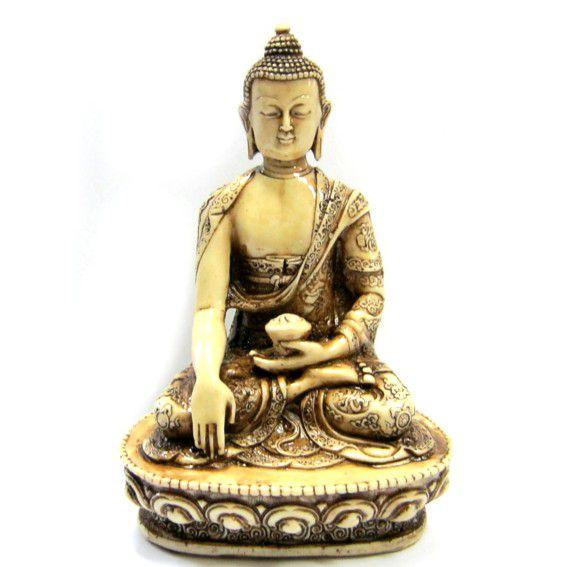 Статуэтка Будда 18 см. полистоун