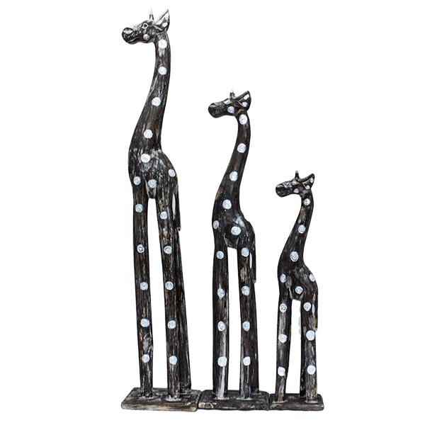 Набор из трех фигур жирафа 100, 80, 60см
