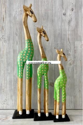 """Статуэтки """"Декоративные Жирафы"""" 100, 80, 60cм."""
