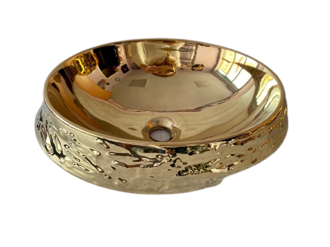 Накладная фаянсовая раковина 40x37x15,5сm
