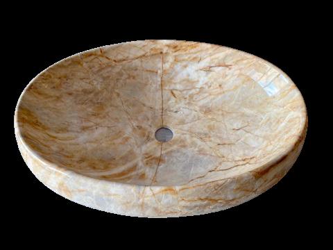 Накладная раковина из фаянса 59 x 41x 16сm