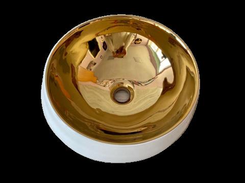 Фаянсовая раковина с клапаном 59 x 41x 16сm