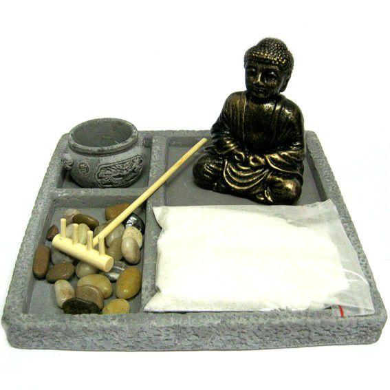 Садик Дзен Будда 18,5х18,5см камень