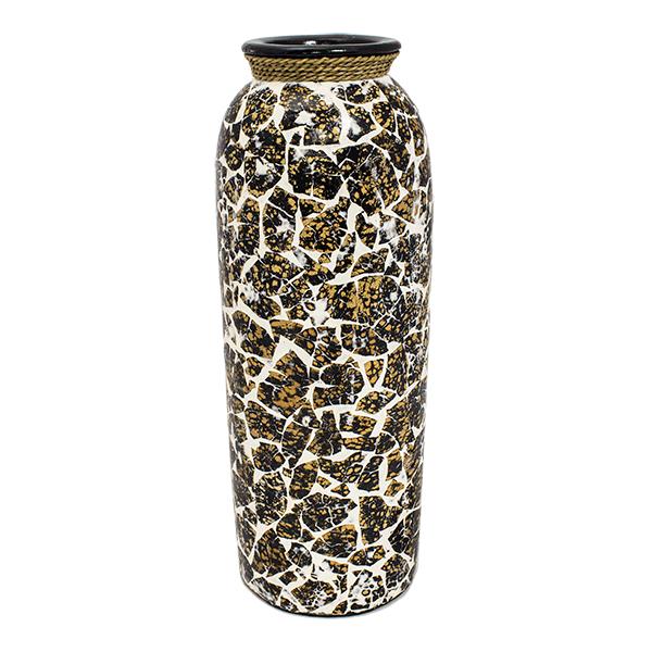 Напольная ваза Баджуни 42 см терракота
