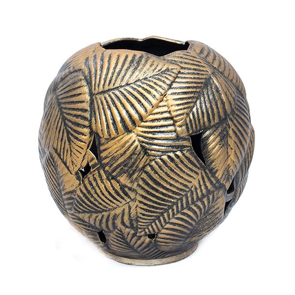 Декоративная ваза Тристан да Куна 35 х35см терракота